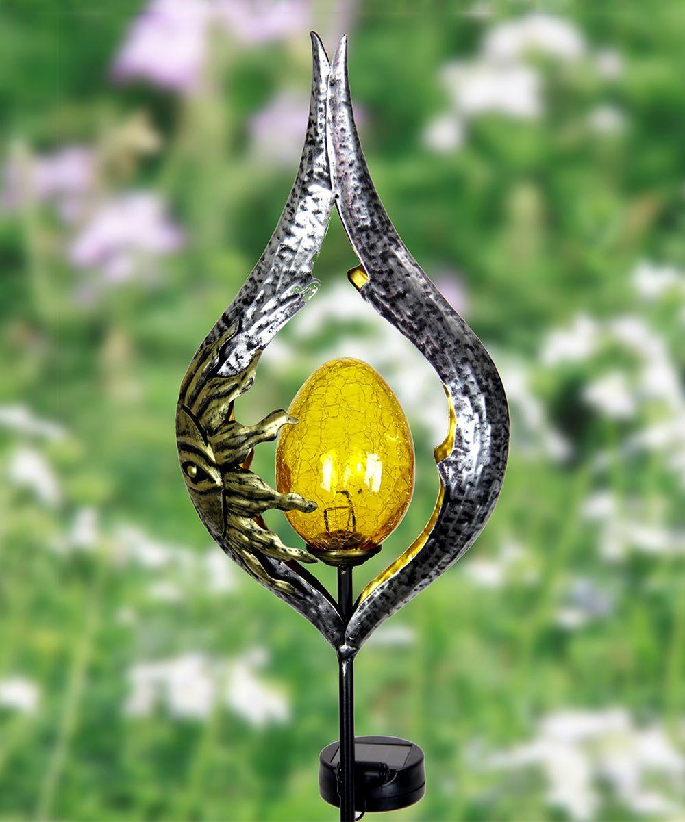 Sun Teardrop Solar Garden Stake