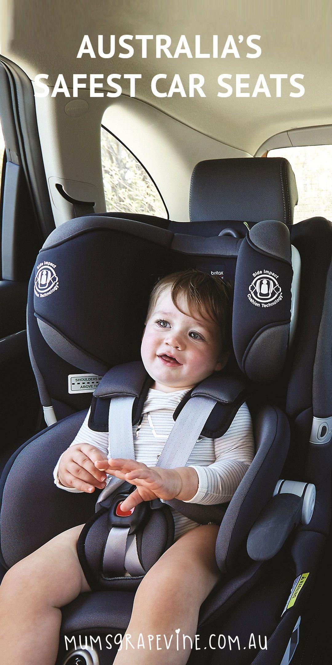 Motoring organisation reveals Australia's safest car seats, booster