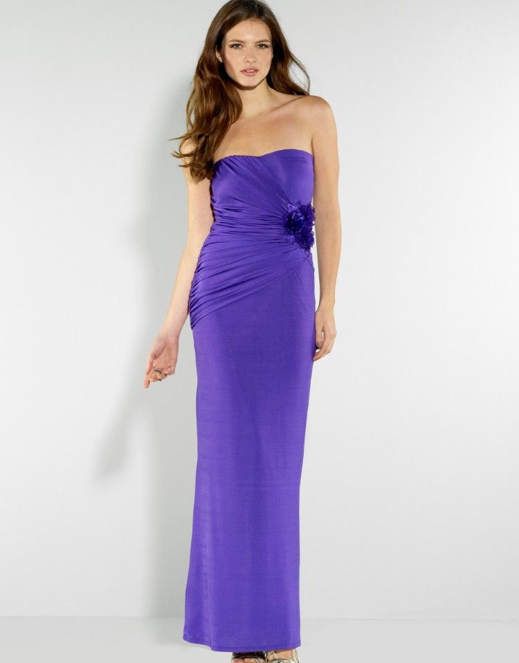 Lipsy Maxi Corsage Slinky Dress | Special occasions | Pinterest ...