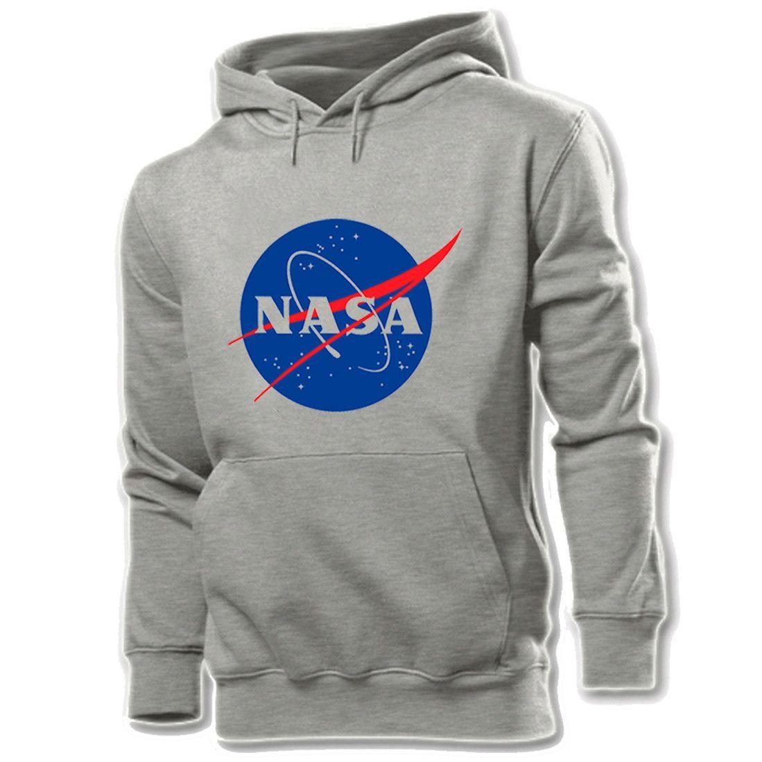 ef92663b2 New Unisex Printed Hoodie NASA Pullover Casual Sweatshirt 3 Colors ...