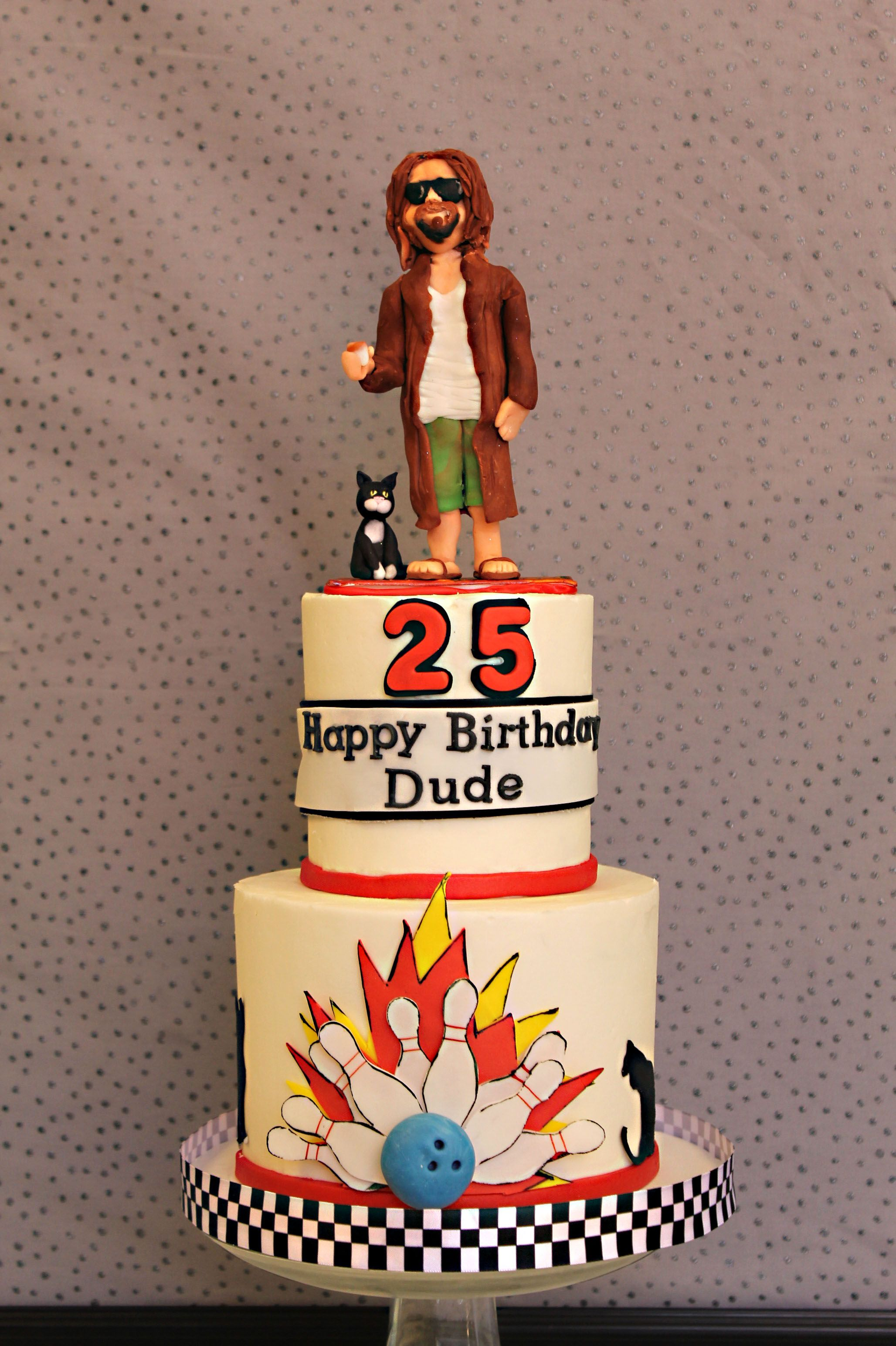 Big Lebowski Themed 25th Birthday The Dude Abides