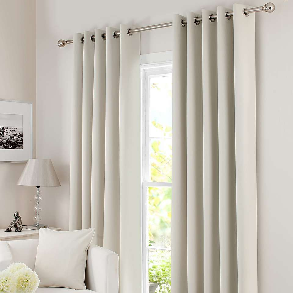 Solar Natural Blackout Eyelet Curtains Cool Curtains