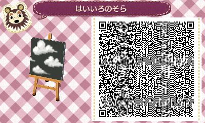 kawaii animal crossing qr codes wallpaper