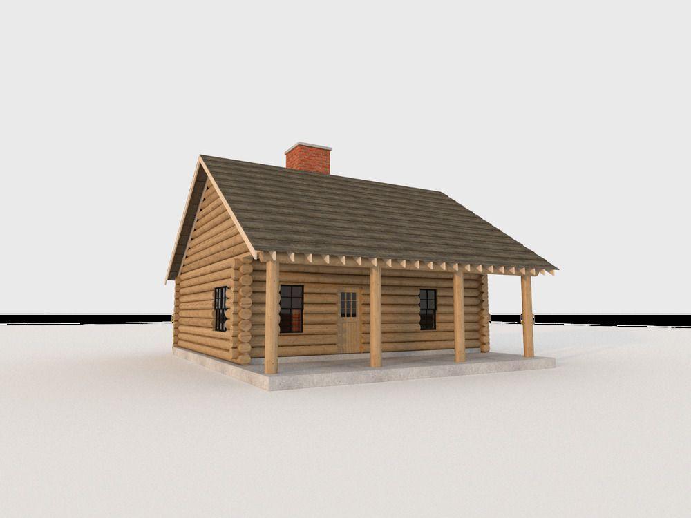 Build Your Own 840 Sqft 2 Bedroom Log Cabin Diy Plans Fun To Build Home Garden Home Improvement Bui Log Cabin Homes Cabin Homes Log Cabin House Plans