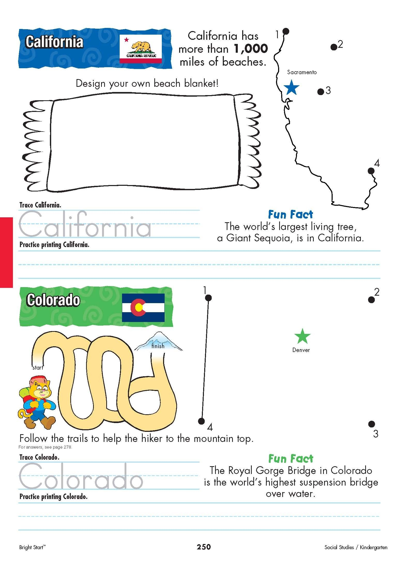 worksheet United States Worksheets california and colorado from shore to begin your find this pin more on educational worksheets by funpup