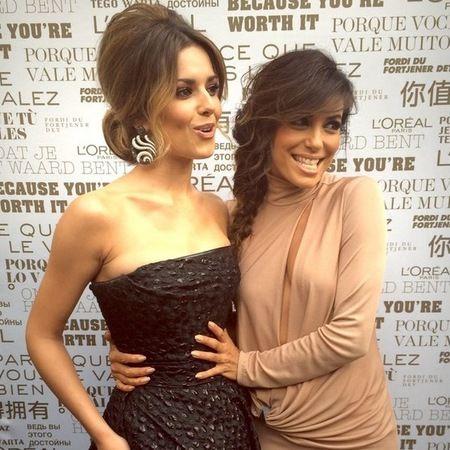 Cheryl Cole And Eva Longoria Are Red Carpet Besties Handbag