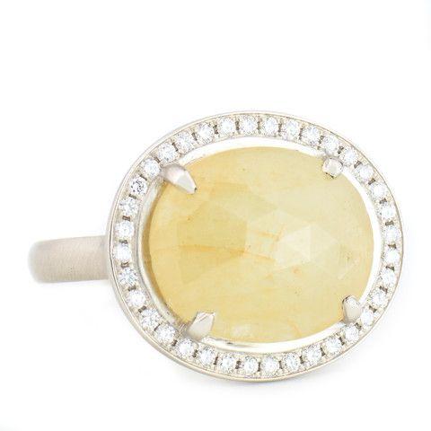 Symphony Sun Rosecut Sapphire Ring   One of a Kind Jewellery   Anne Sportun Fine Jewellery Style: RX1264   Anne Sportun Fine Jewellery   Rings - Necklace - Bracelets & Charms - Earrings   Custom Handcrafted Jewellery   Toronto - Canada