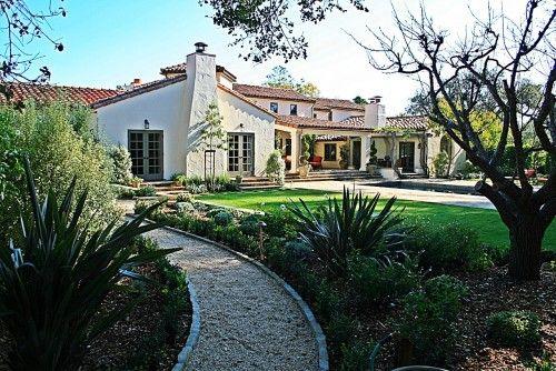 Mediterranean house in Santa Barbara. ((sigh))
