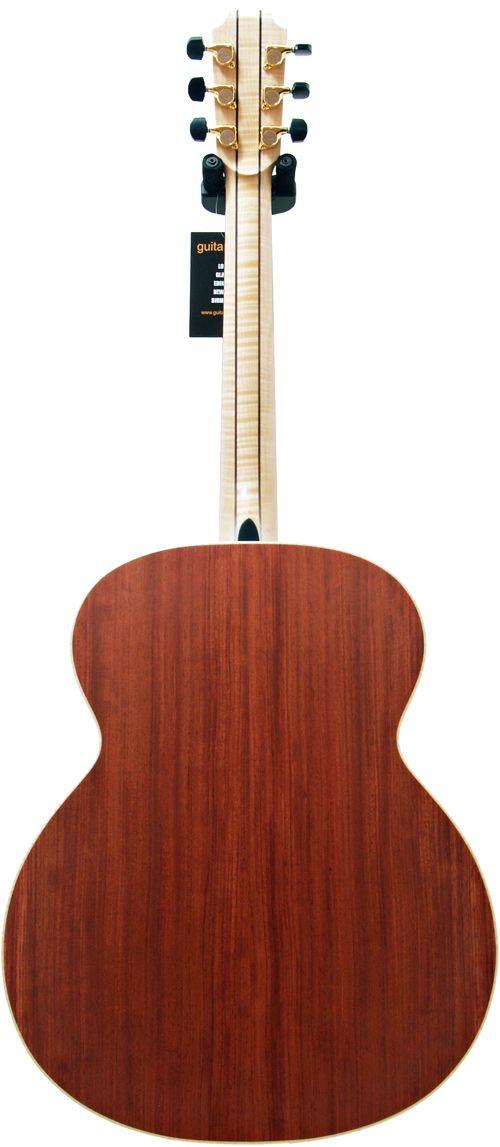 Bubinga Back And Sides On The Paul Brady Signature Model Acoustic Guitar Bass Guitar Guitar