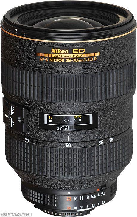 Nikon 28 70mm F 2 8 Af S Nikon Camera Lenses Nikon Camera Nikon