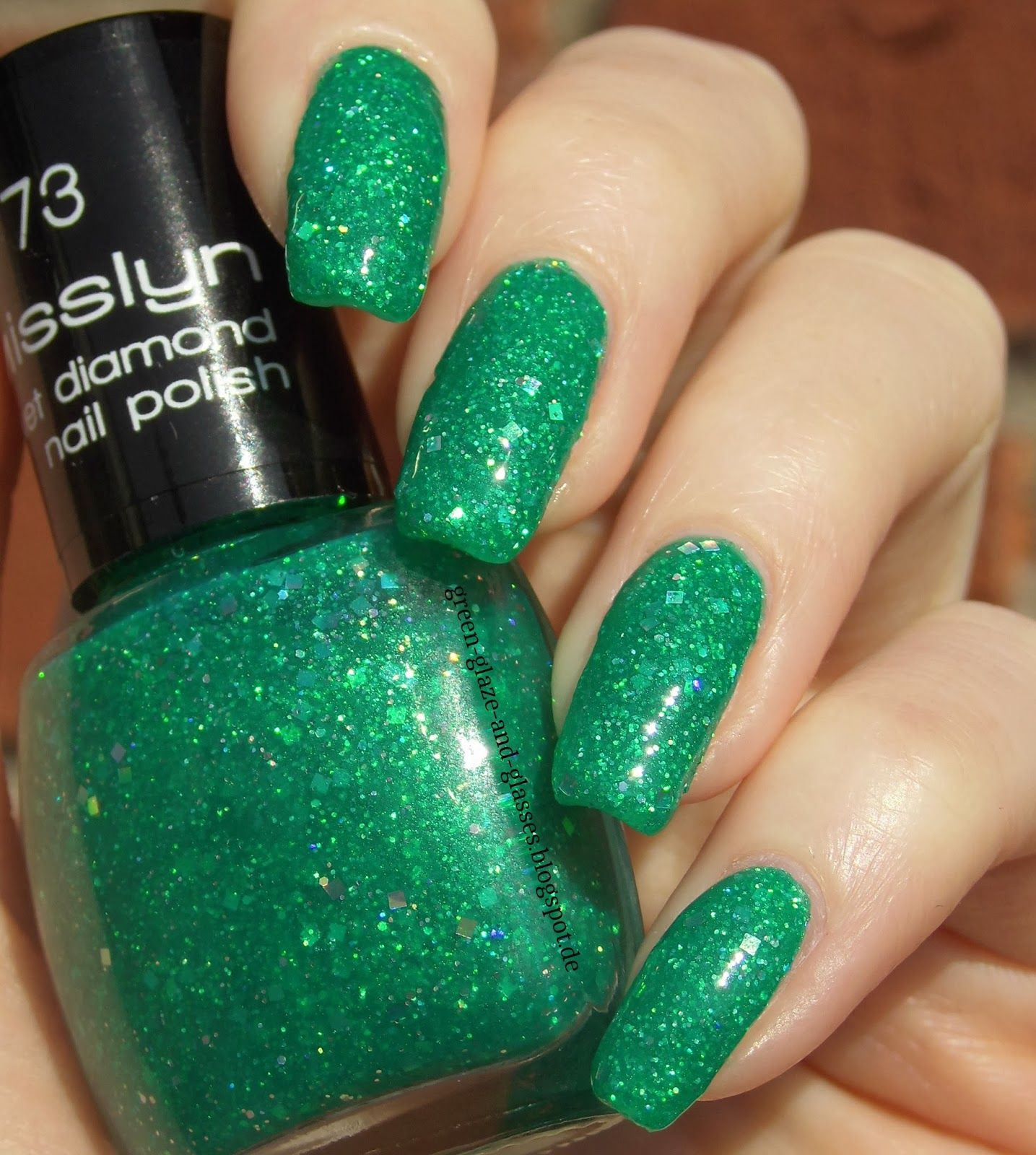 Green, Glaze & Glasses: Misslyn Velvet Diamond 73 Oriental Emerald ...