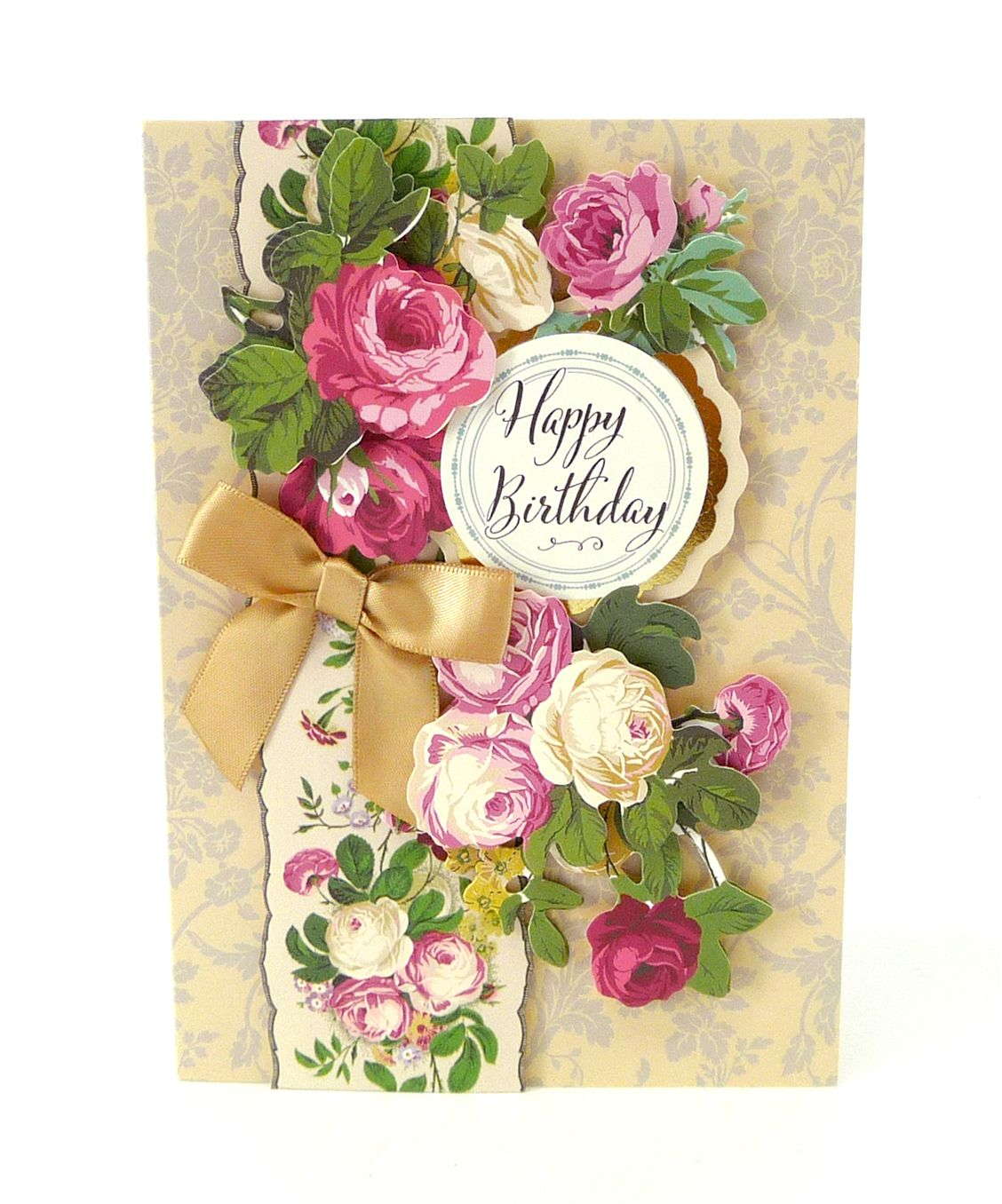 Anna Griffin® Birthday Bouquet 3D Sticker Kit