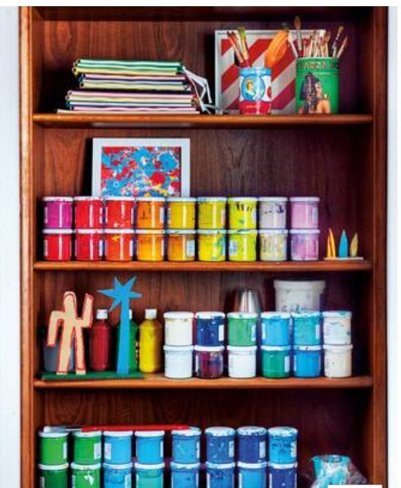 Organised by colours