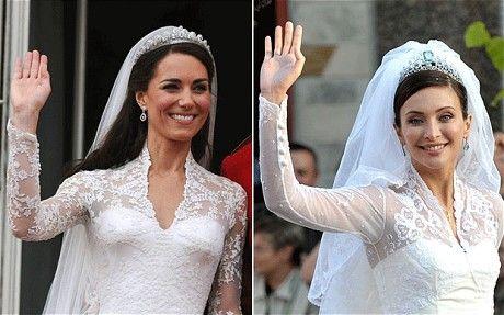 Beautiful Royal wedding Europe cries ucopycat Kate u over wedding dress