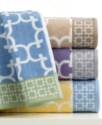 Charter Club Bath Towels Trellis Collection Bath Towels Bed