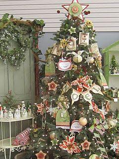 Scrapbook paper Christmas Crafts!
