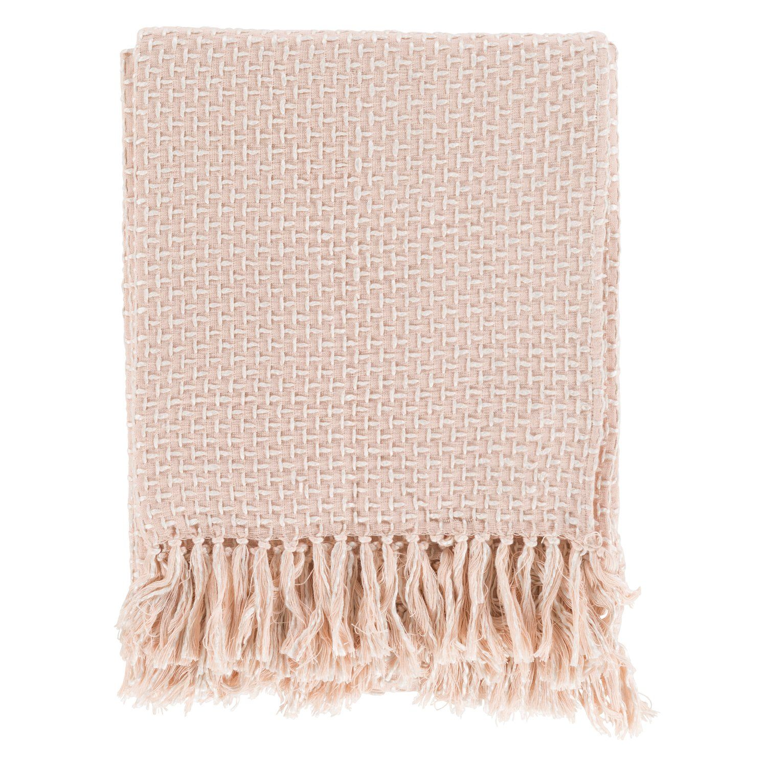 Pink Throws Woven Blankets Throw Baby Blanket Light Bedding