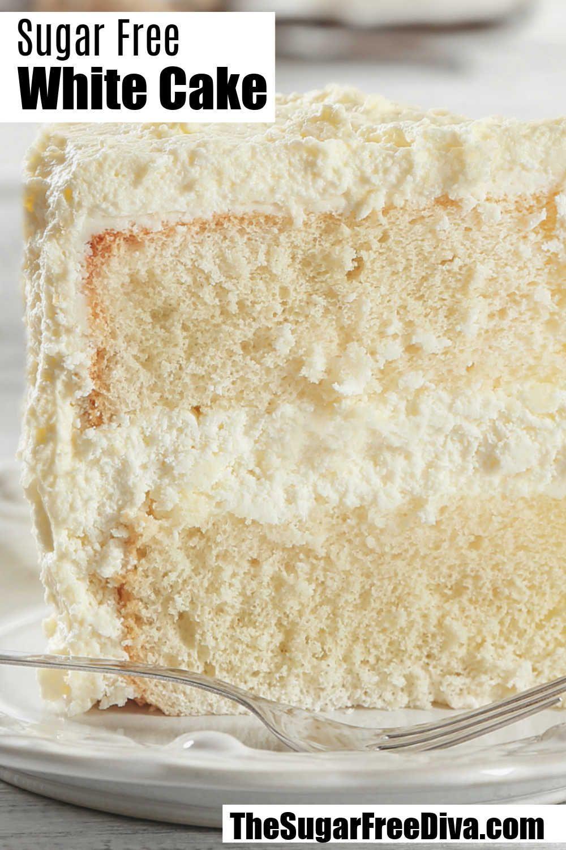 Sugar Free White Cake Recipe - THE SUGAR FREE DIVA