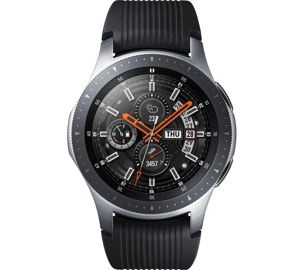 Samsung Galaxy Watch Silver 46 Mm Galaxy Smartwatch Samsung Watches Samsung Smart Watch