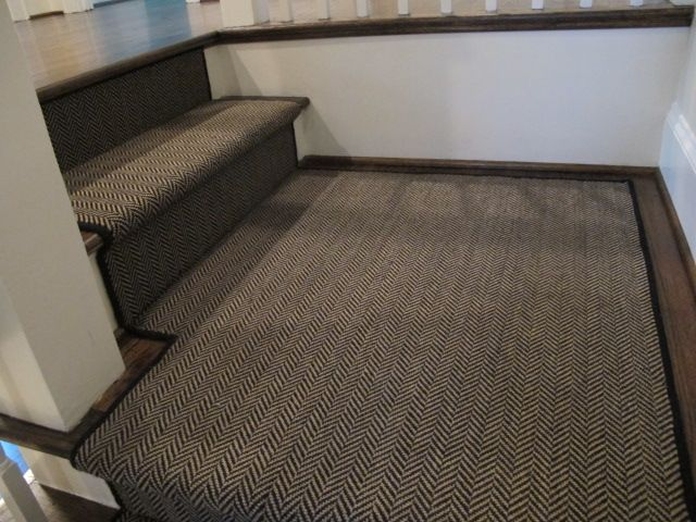 Find This Pin And More On Staircase By Panameraaseller. Love Love Love This Herringbone  Runner ...