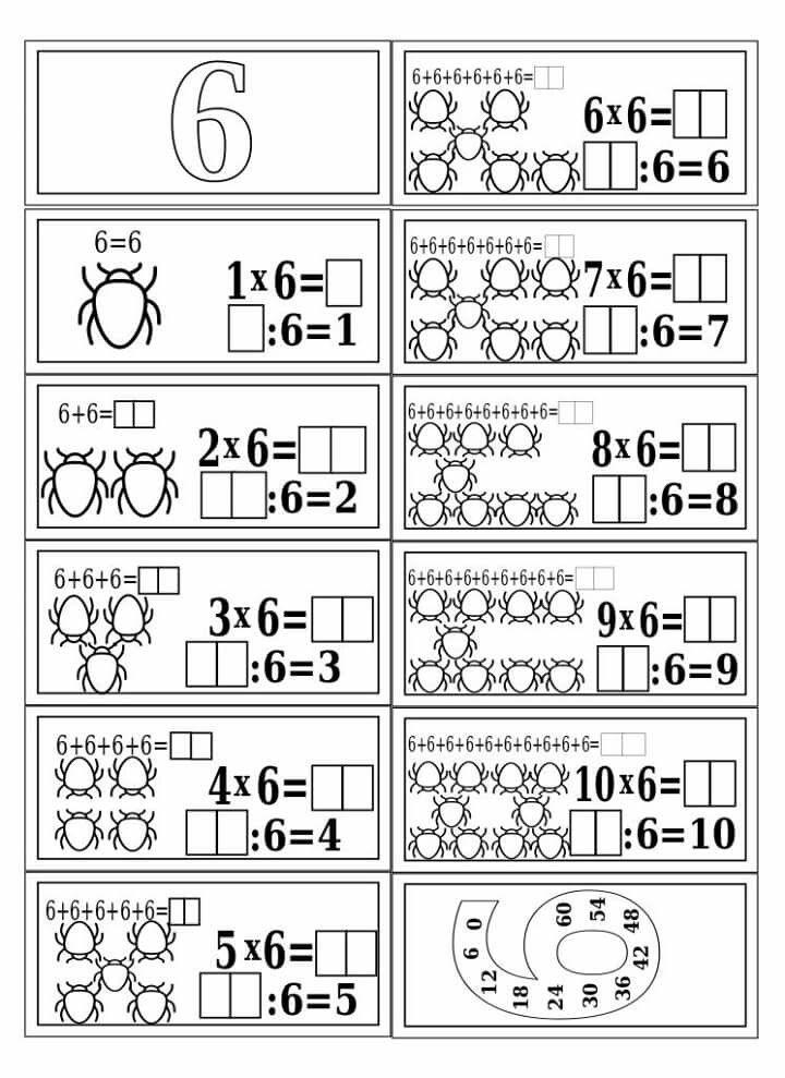 Pin de Gabi Veres en MATEMATIKA 2-3-4. | Pinterest | Multiplicación ...