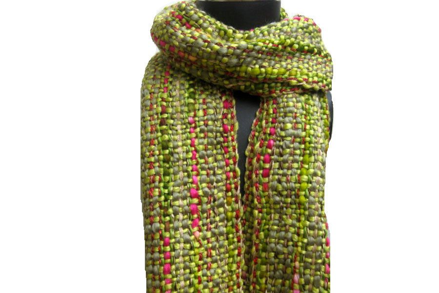 Knitted scarf/knit scarf/ scarf/ muffler/ unisex scarf/ multicolored muffler/ woolen muffler/ gift scarf/gift item. by vibrantscarves on Etsy