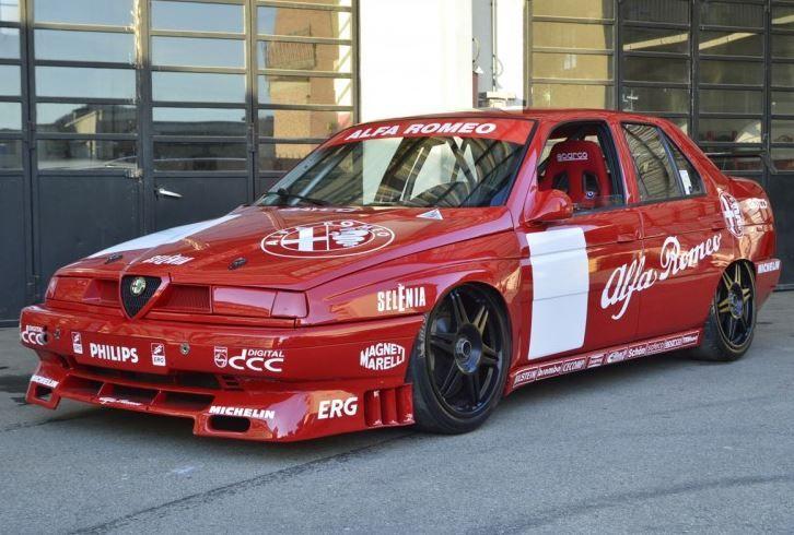 Track Ready 1994 Alfa Romeo 155 D2 Superturismo Racer Alfa Romeo 155 Alfa Romeo Alfa Romeo Cars