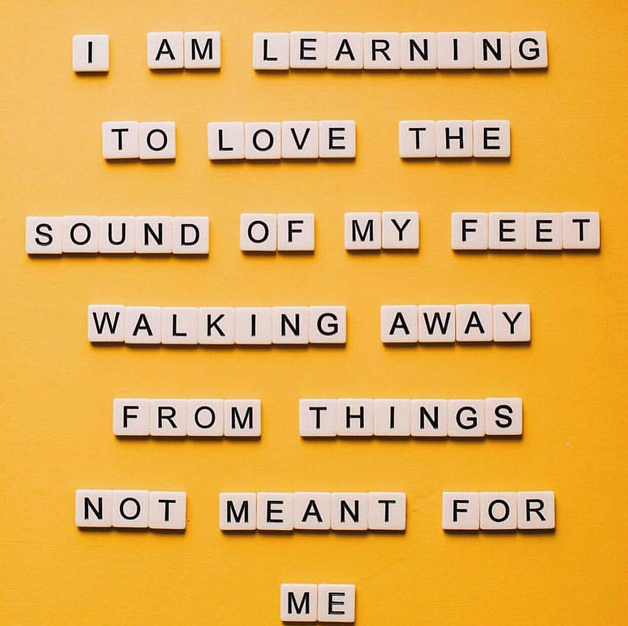 Learning to walk away