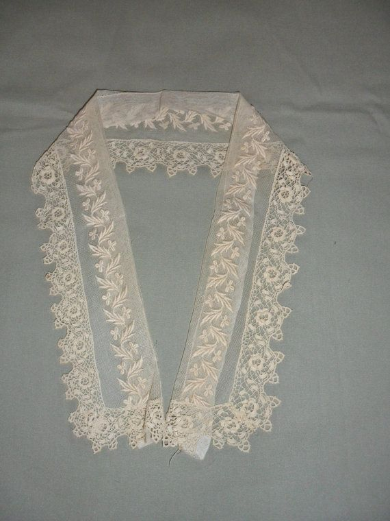Hey, I found this really awesome Etsy listing at https://www.etsy.com/listing/202684483/antique-victorian-irish-crochet-lace