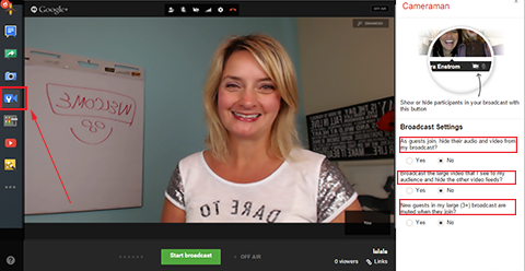 How to Stream Live Google Hangouts on Air to YouTube