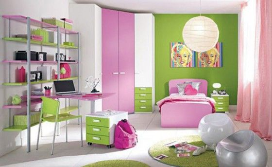 If I could be a teenager again I might have this room.