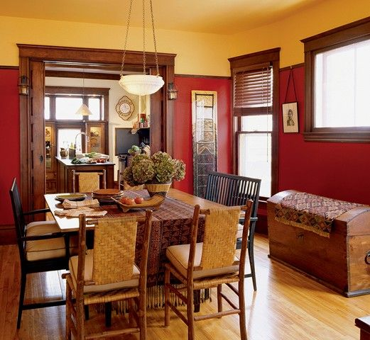 Most Popular Dining Room Colors: Paint Color Inspiration In 2019