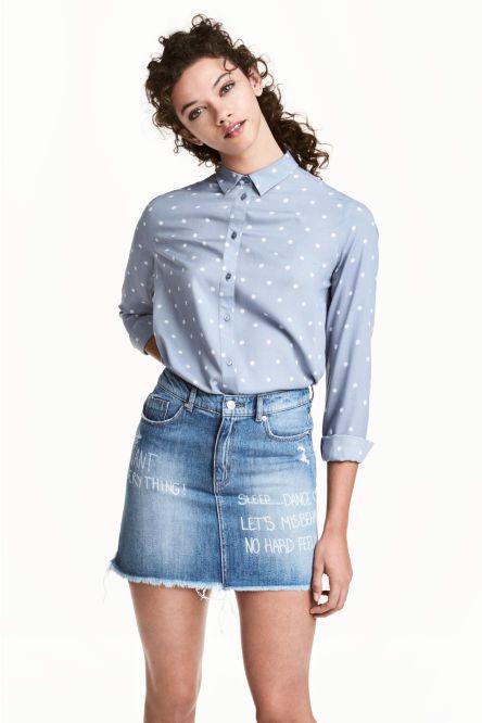 And Skirts Falda Vaquera Corta Skirts More qAWtR10g