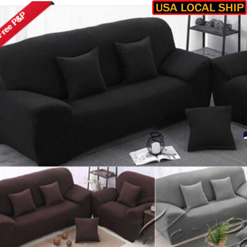 1 3 Seater Stretch Loveseat Sofa Couch Protect Cover Slipcover Washable Elastic Sofa Slipcover Ideas Of Sofa Slip With Images Loveseat Sofa Slipcovered Sofa Sofa Couch