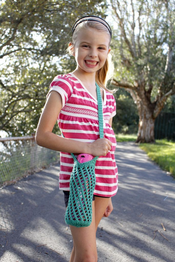 Knitted Water Bottle Holder Free Pattern - | Water bottle holders ...