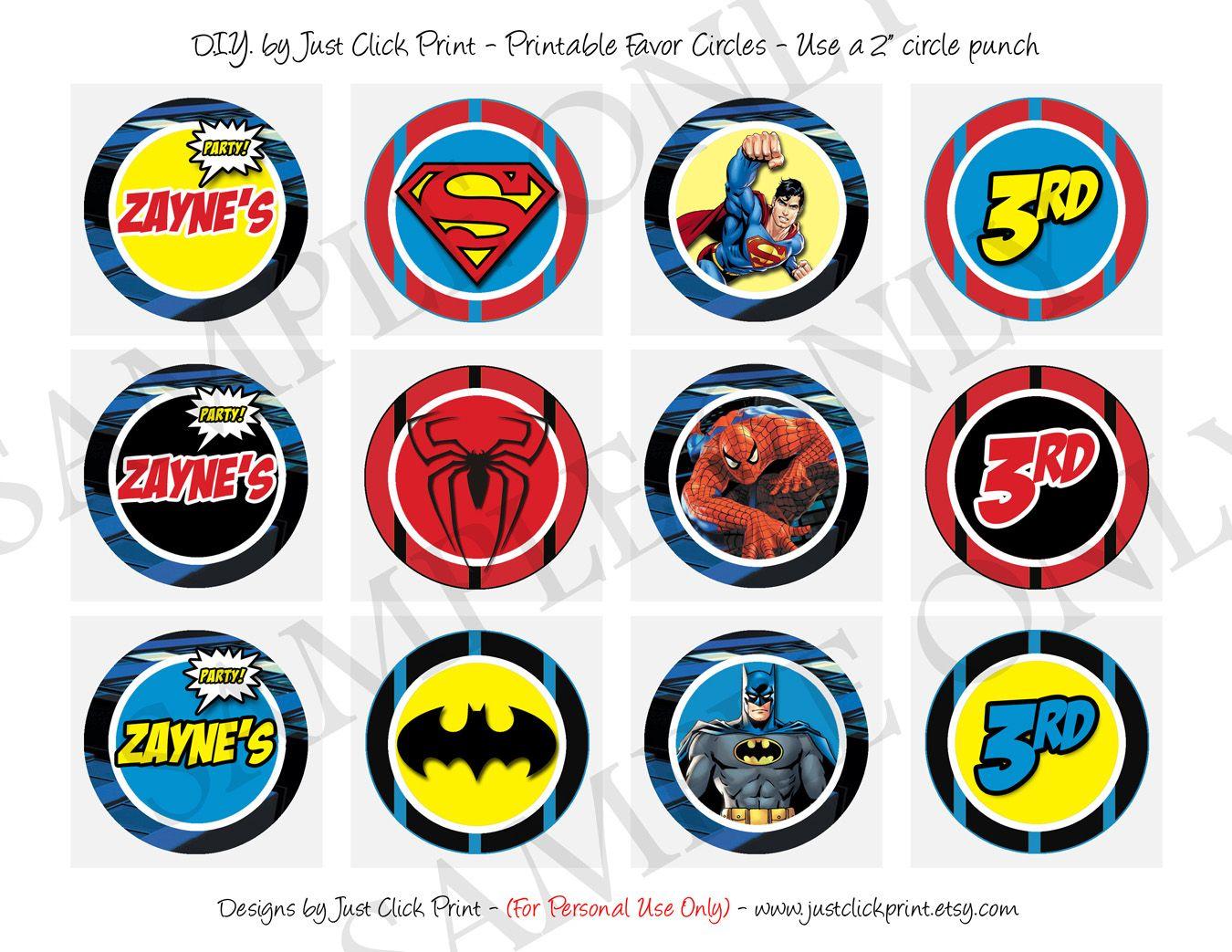Amazing Batman Superman Spiderman Birthday Invitations HD Picture ...