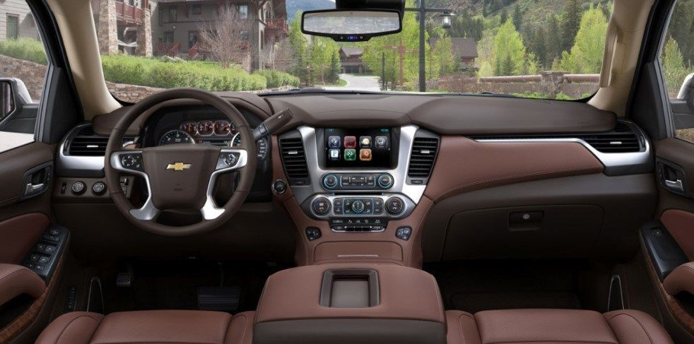 2020 Chevrolet Suburban Cabin Styling And Tools For Driver Eropa