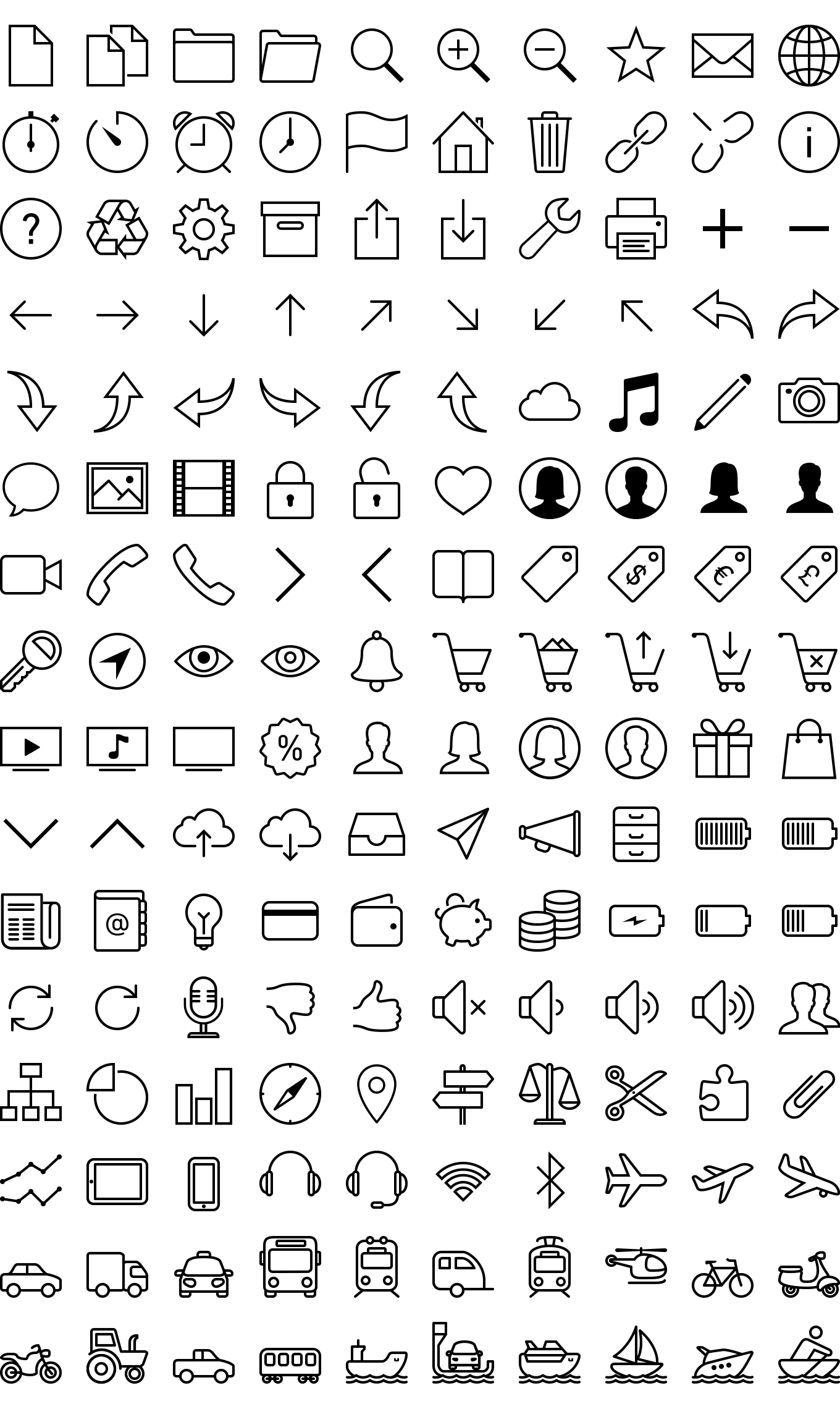 Download 1900+ Free iOS 7 Icons Icons8 Bullet journal