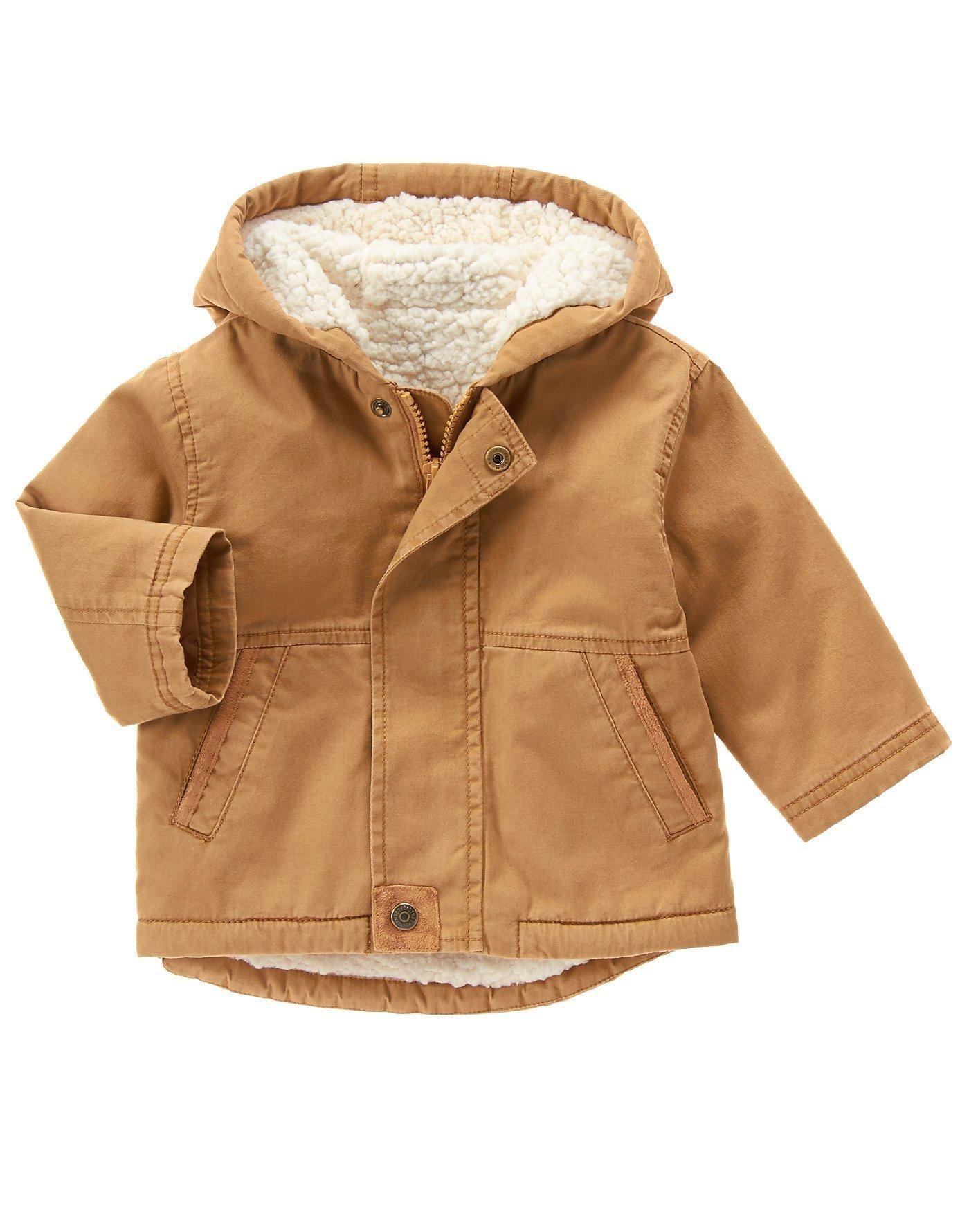 Gymboree Baby Boys Sherpa Jacket