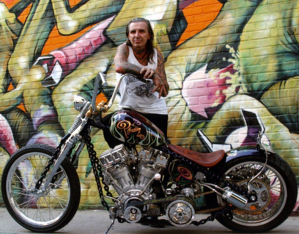 Indian Larry In my opinion thee best bike builder  He is