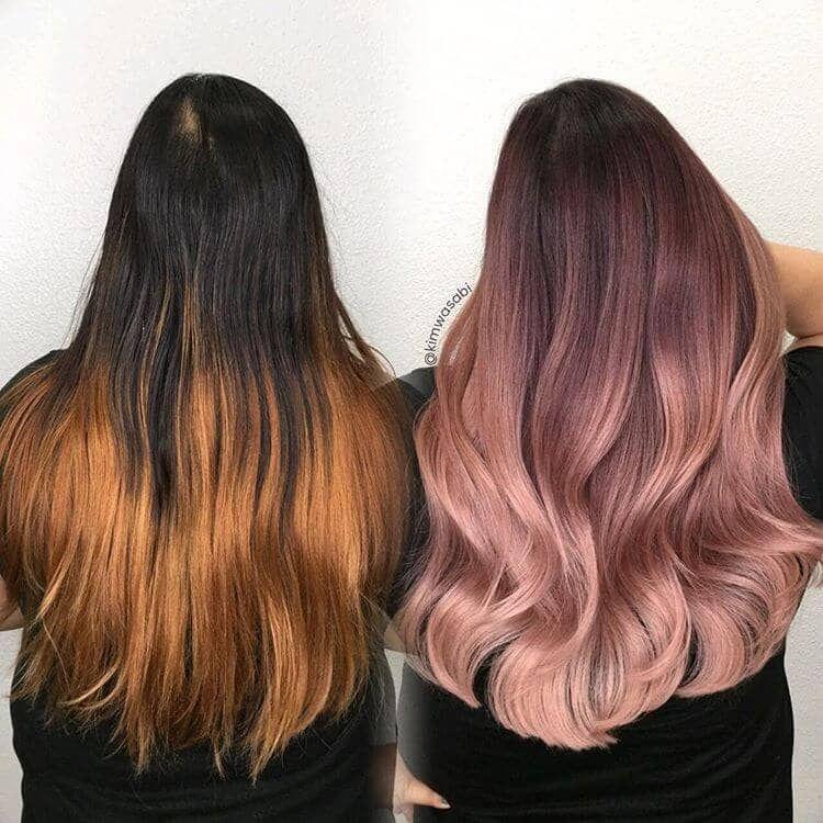 50 couleurs de cheveux irrésistibles en or rose qui prouvent que vous pouvez retirer cette te...