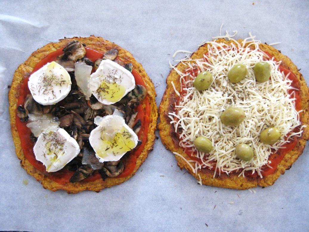 Si Estás Siguiendo Una Dieta Que Limita Las Harinas O Si Eres Alérgico Al Gluten ésta Es Tu Piz Pizza Sin Harinas Comidas Sin Harina Recetas Vegetarianas