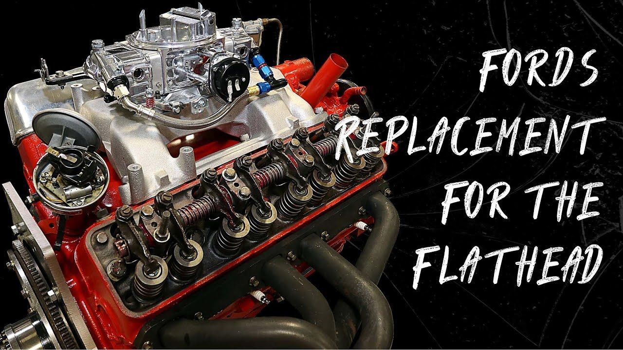 The Engine That Replaced The Flathead Ford Y Block Build In 2020 Engineering Ford Blocks