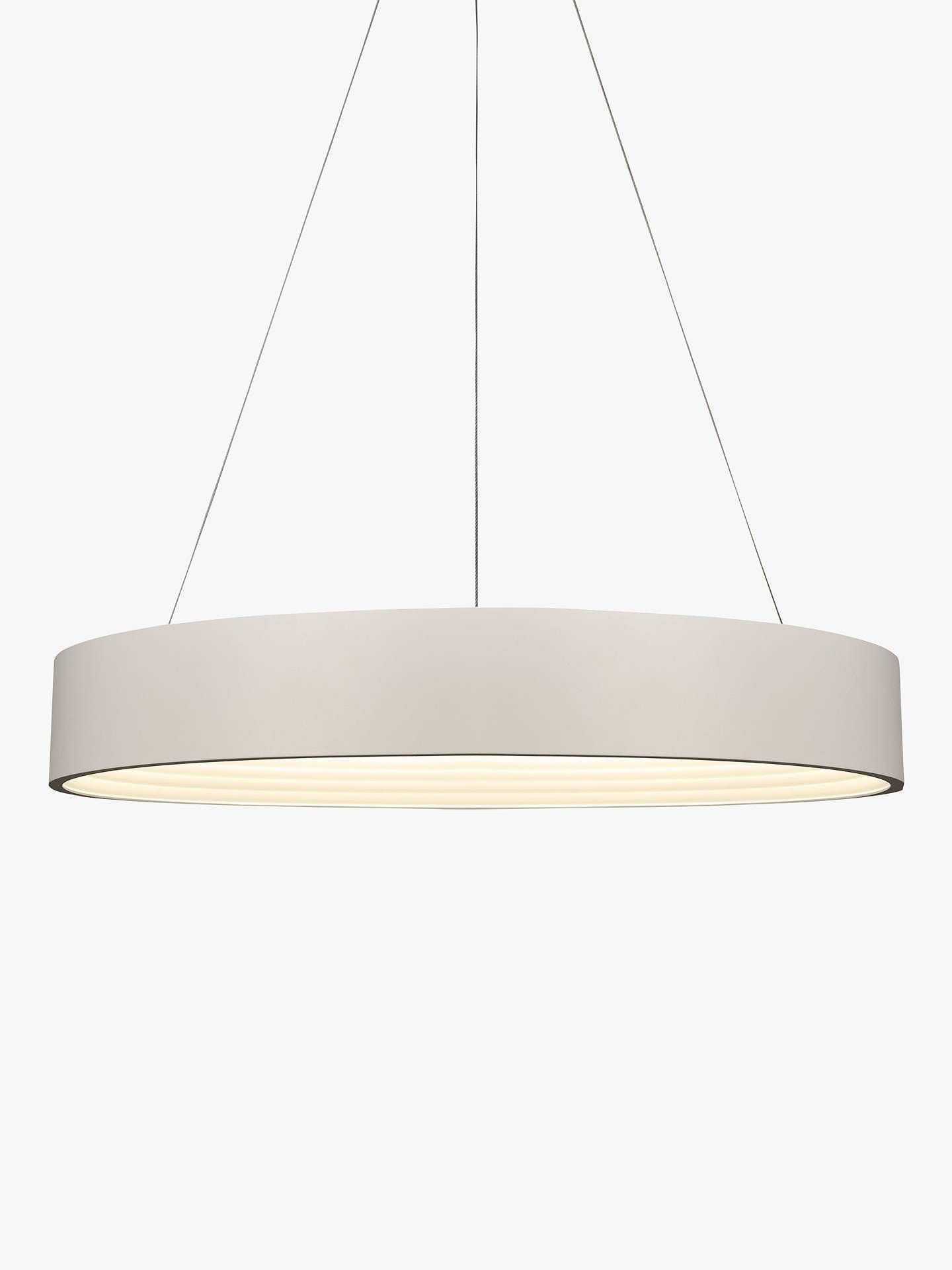 John Lewis Partners Leif Led Ribbed Hoop Ceiling Light White Ceiling Lights Led Ceiling Lights John Lewis Lighting