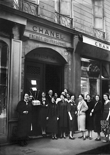 fd76a144669d Strike In Chanel Fashion House In Paris On 1938