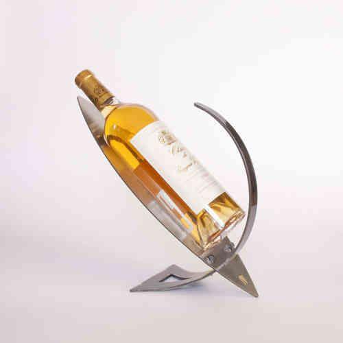 Un Porte Bouteille En Métal Belle Idée Cadeau Konštrukcia Wine