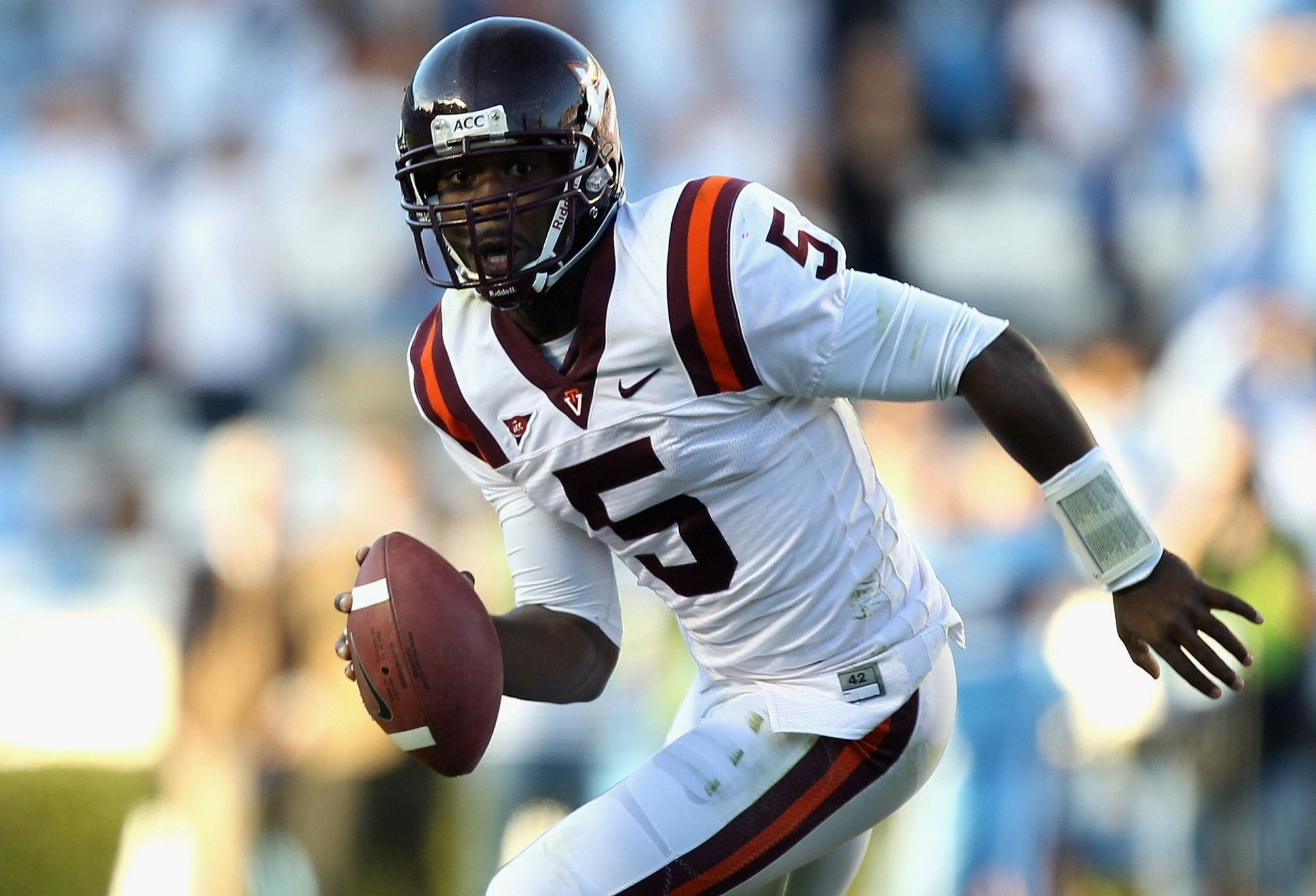 Tyrod Taylor Virginia Tech. Best QB from there since