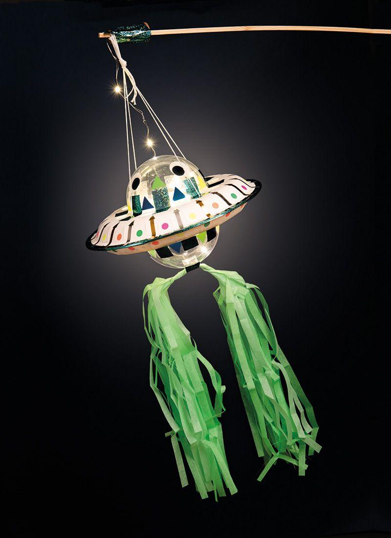 Laternen Bastelset Ufo