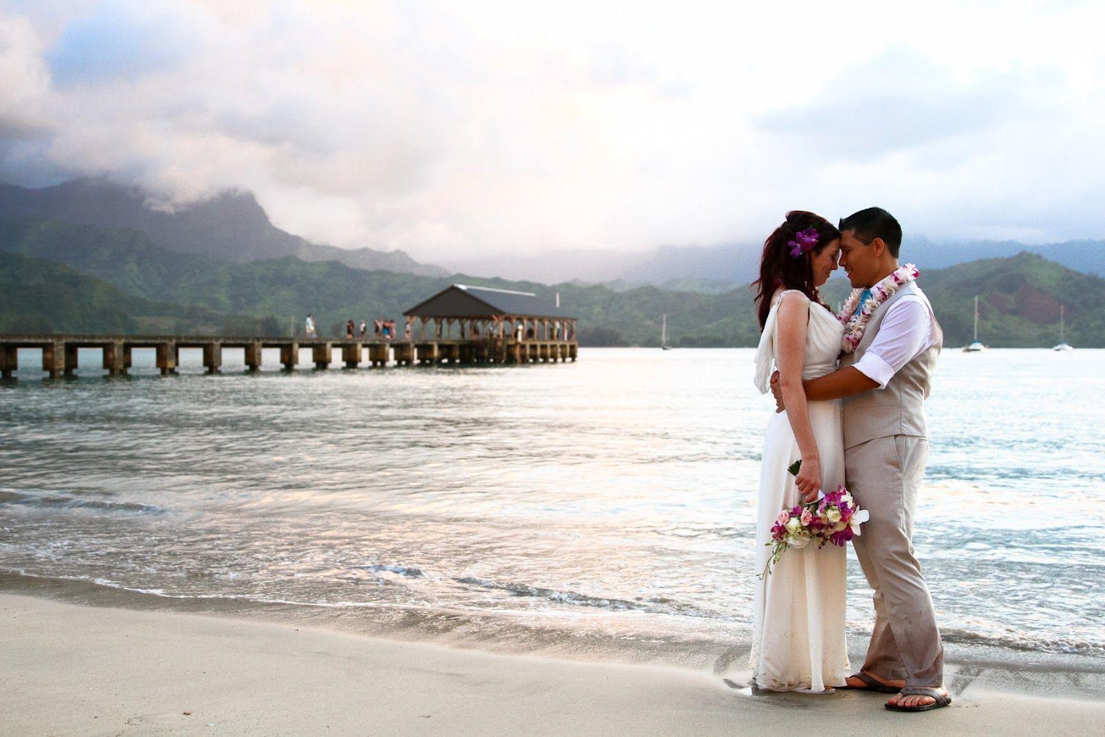 Hanalei dream kauai beach weddings pinterest florists beach