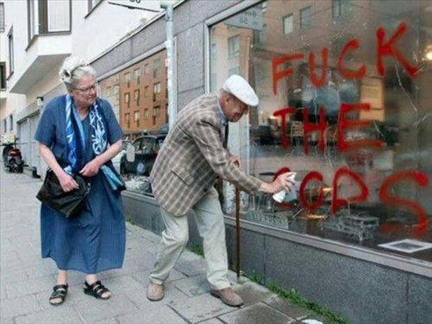 Old people rock
